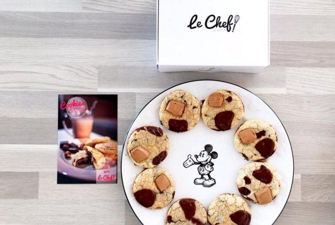 Cookies à tremper dans un verre de lait ! ©Le chef en box