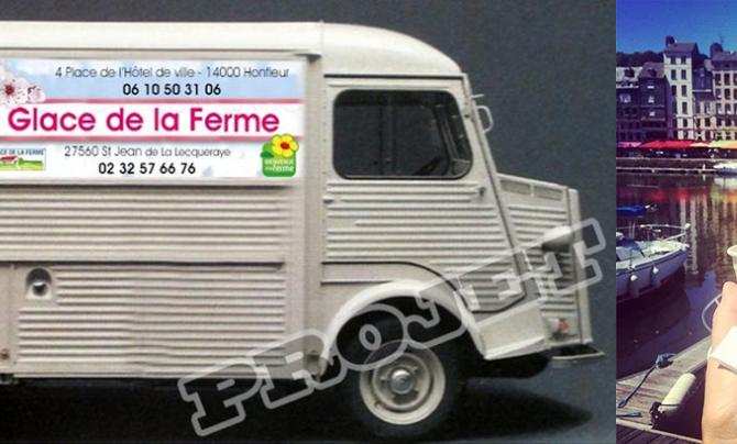 La ferme du Bois Louvet lance le premier ice-truck fermier français.