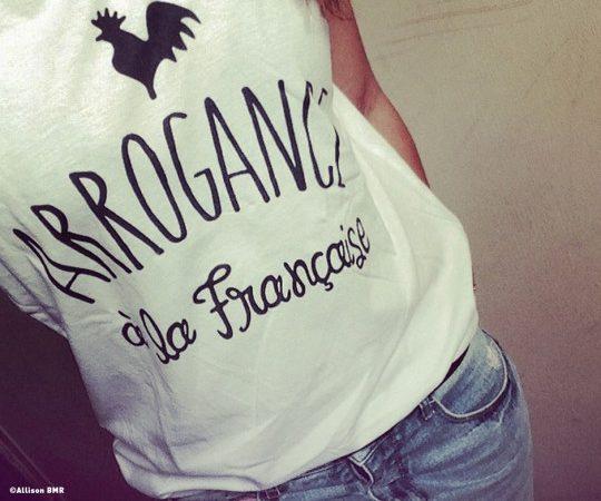 Shaman_Arrogance à la Française_T-shirt