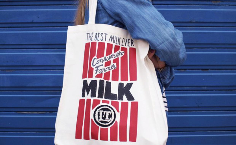 Mode et produits laitiers, c'est stylé