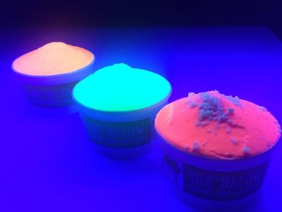 Glowinthedark_Ice Cream fluorescent