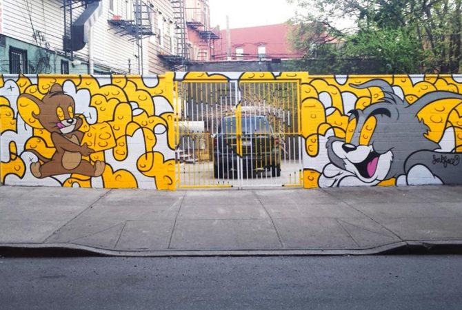 Tom et Jerry par Jerk Face (New York 2004)